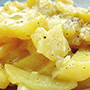 Portion Kartoffelsalat